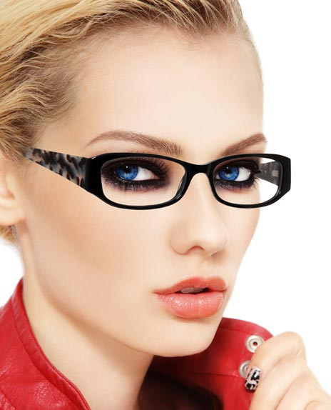 Eyeglass Frames On Models : Gallery For > Model With Glasses