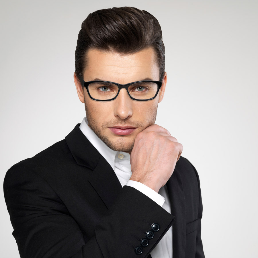 Sleek-Unique-Male-Eyeglass-Frames